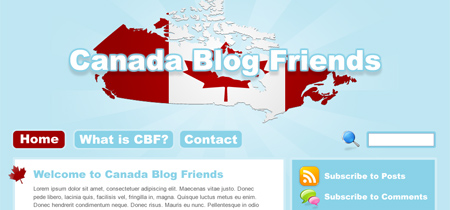 Canada Blog Friends
