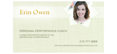 Erin Owen Business Card